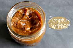 Pumpkin Butter --- This year, we're getting started with this decadent pumpkin butter recipe. Perfect on some toasted pumpkin yeast bread. :)