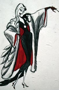 Cruella de Vil | 19 Disney Characters That Could Have Looked Completely Different