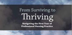 First year Nursing Survival guide