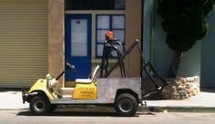 Tow Truck Golf Cart?  Cute