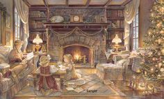"""""""Christmas At The Cottage"""" by Trisha Romance"""