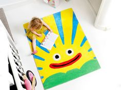 Alfombras para niños con colores
