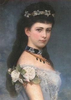 "Elisabeth Amalie Eugenie ""Sissi"" (1837-assassinated 1898) wife of Emperor Franz Joseph I Austria."
