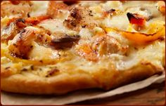 Grilled Chicken Alfredo Pizza - Traeger Grill Recipes
