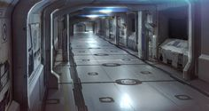 Robots man, Robots - Awesome Sci-fi interior renderings. Begun in...