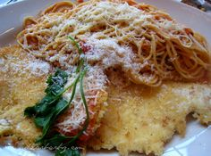 This is mine :) Cheesecake Factory Crusted Chicken Romano Recipe