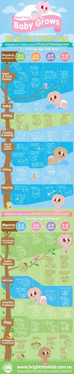Baby Milestones- good to know...