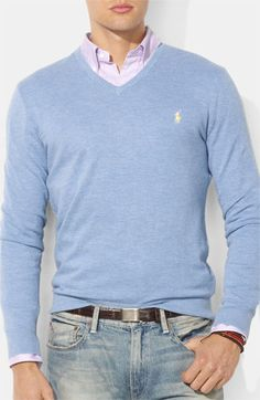 Polo Ralph Lauren Classic Fit Jersey Sweater available at Nordstrom
