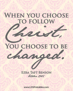 Choose to be Changed by God