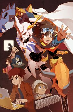 Digimon: Our War Game by ~finni on deviantART