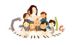 Today's Google Doodle honors German pianist and composer Clara Schumann, who was born on September 13, 1819.