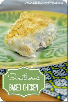 Smothered Baked Chicken - The Seasoned Mom