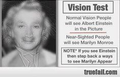 From a fan. I must be VERY near-sighted.
