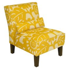 I pinned this Peyton Accent Chair in Sungold from the Preppy 101 event at Joss and Main!