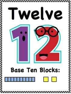 Perfect Posters... Cute and help reinforce Base Ten Blocks!