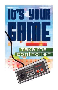 Classic Video Game Art Print by Rob Osborne.