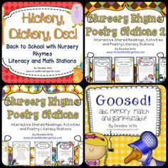 Nursery Rhyme Packs (not free; from Mrs. Wills Kindergarten)
