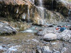 Hot Springs  Lowman Idaho