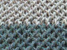 List of Knitting Board Stitches | Bird's Quest - Criss cross stitch ♥LLKT♥ with PDF pattern