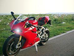 Ducati 1199 Panigale S  I wouldn't mind having a street bike :)