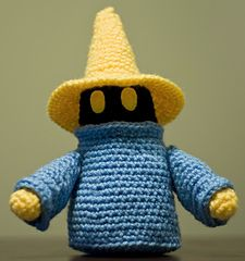 Black Mage (Final Fantasy) (free pattern)