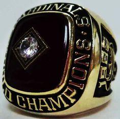 1980 St. Louis Cardinals Ring