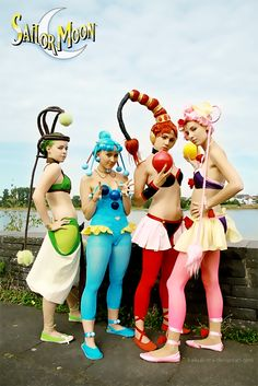 YES! Cosplay of the Quartet