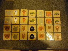 Cricut Classroom Ideas Picture- Matching Game