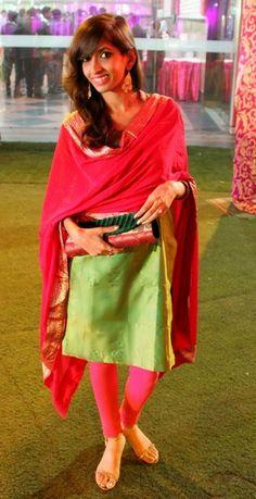 silk salwar kameez, Indian ethnic look, fashion, traditional