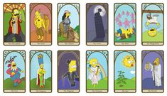 The Simpsons Tarot C