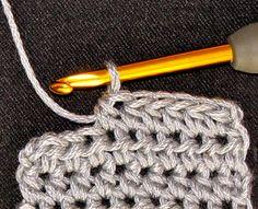 Vashti's Crochet Pattern Companion: That Tricky Half Double Crochet Stitch (hdc)