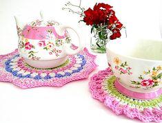 Tea Time Teapot Doily ~ free pattern