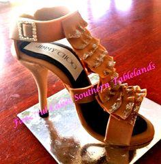 fondant shoe