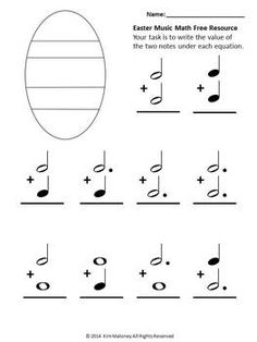 EASTER MUSIC MATH: FREE DOWNLOAD FOR A LIMITED TIME