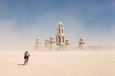Burning Man Temple