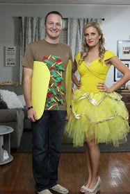 Katie Raines: DIY Couples Halloween Costume Ideas. Taco Belle