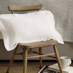 Buy Bedroom > Bedspreads & Cushions > Sleep Cushion Cover from The White Company