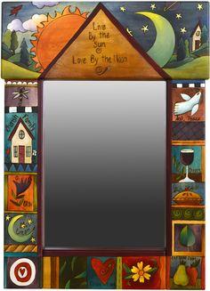 Sticks Medium Mirror 1037 by Sticks | Sticks Furniture, Home Decorative Accents