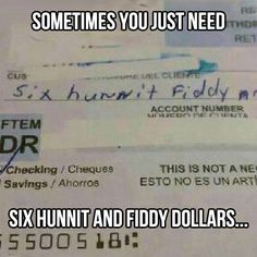 Six Hunnit and Fiddy-- love it.