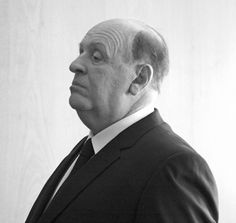 Anthony Hopkins as Alfred Hitchcock.