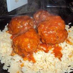 Zesty Porcupine Meatballs Allrecipes.com