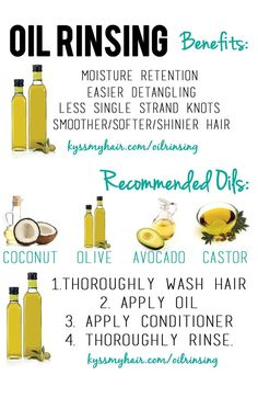 Oil Rinsing 101: The benefits, recommended oils and the process