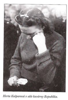 Herta  Kašparová was executed at age of 23 for her work for the Gestapo in the Protectorate of Bohemia and Moravia