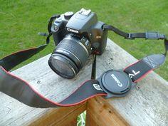 Camera Lens Cap Holder project from kickstart