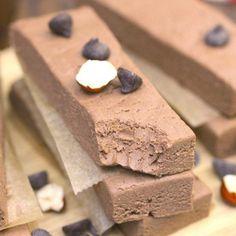 Nutella Fudge Protein Bars