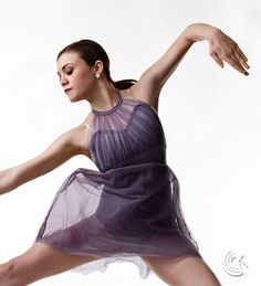 Curtain Call Costumes® - Let Love In Top front lined-nylon/spandex leotard with shirred tricot bodice overlay and attached tricot skirt. https://curtaincallcostumes.com/products/product-page-t.php?prodid=6986