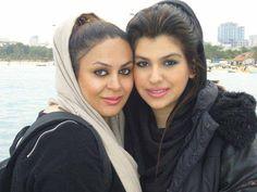 Duo Istanbul Girls At Beach beach