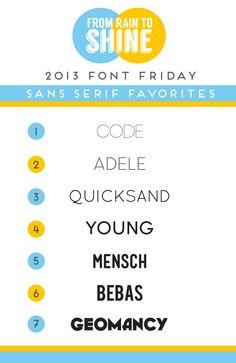 Free Fonts, Sans Serif Fonts