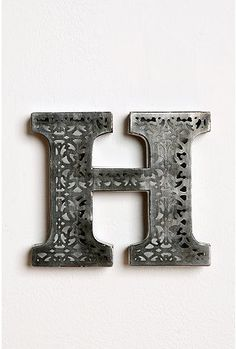Acid Etched Letters from Urban Outfitters