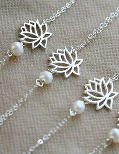 lovely lotus bracelets.